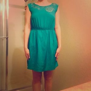 Green Dress from Nordstrom Rack